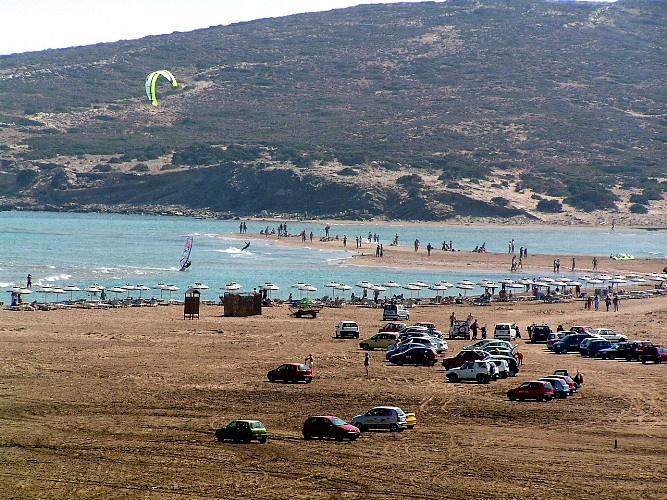 Prasonisi Beach, Rhodes location information details - Guide2Rhodes