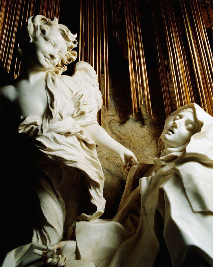 Éxtasis de Santa Teresa de Bernini Bernini en Roma.