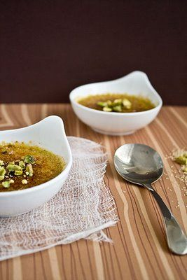 Pistachio creme brulee | Creme Brulée - classic and delicious | Pinte ...