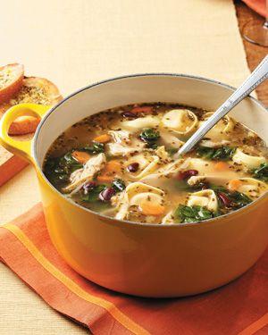 ...   Mediterranean chicken, Sweet potato soup and Vegetable beef soups