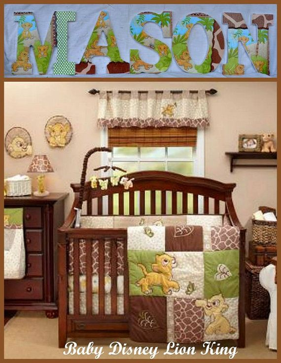 Lion King For The Baby Boy Bedding Crib Sets