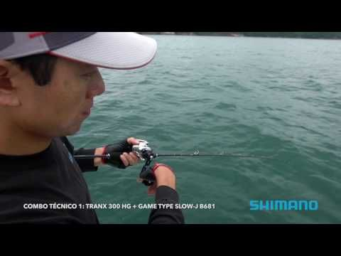 Carretilha Shimano Tranx 300 e 400 HG - YouTube