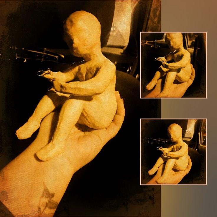 #процесс #философское #мыслитель #мечтатель #накаркасе #ктоэтотакое #институты #учимся у скульптора #ребёнок #ребёнки #пропорции #каркас #пластилин #бытие #задумался #впроцессе #куклы #ручнаяработа #арт #дизайн #art #design #doll #dolls #handmade #pierretteru