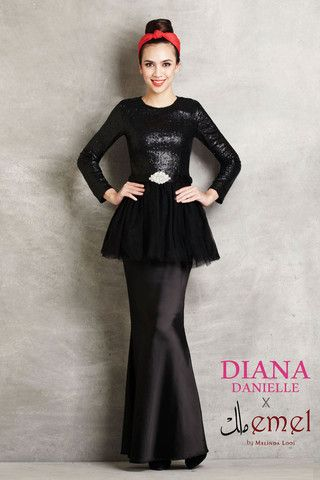 Diana Danielle x emel - Sequinned Peplum with Tutu