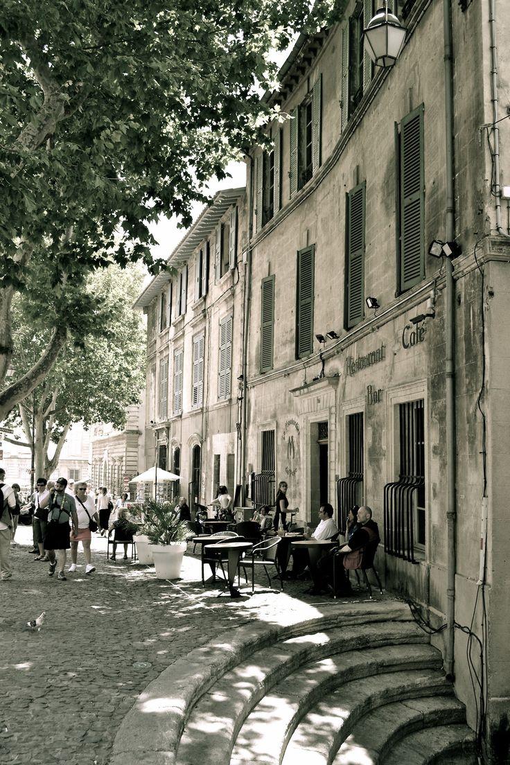 Avignon, France. There are surprises around every corner.