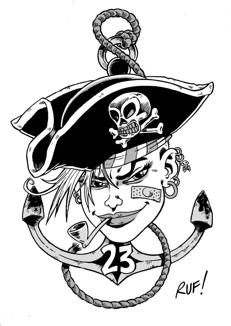 Rum, Sodomy, and the Lash!    TANK GIRL tattoo design done as last thing of the day, while drinking...rum, brought back my lovely friend Lucy from her Pirate expedition!    Time... for more Rum!!!    XXX    Love'n'tanks!    Ruf!  - Team SGDM!