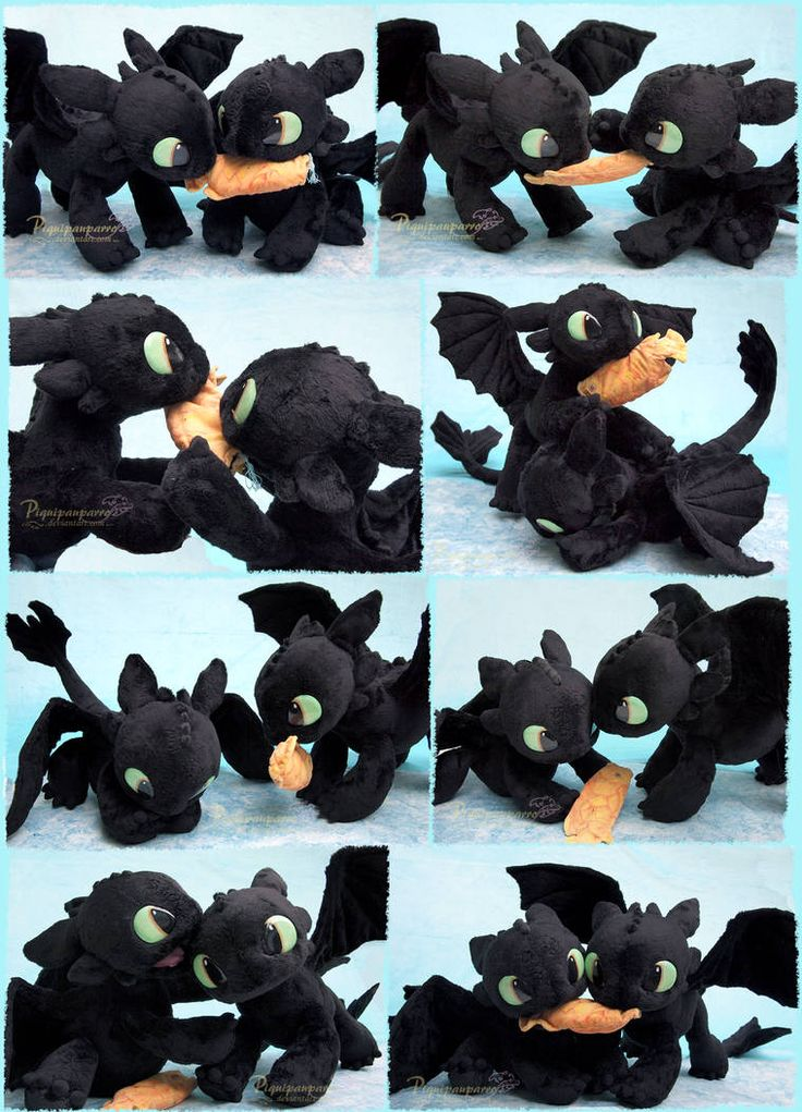 how to train your dragon plushies