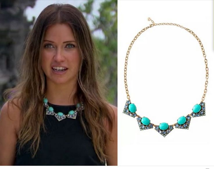 The Bachelorette Kaitlyn Wears Rory Necklace In Blue Right Now It Is 50