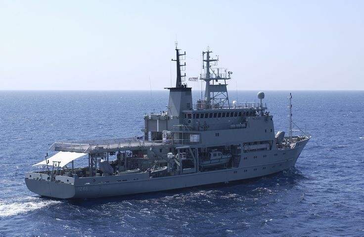 HMAS Melville, Royal Australian Navy Hydrographic survey ship.