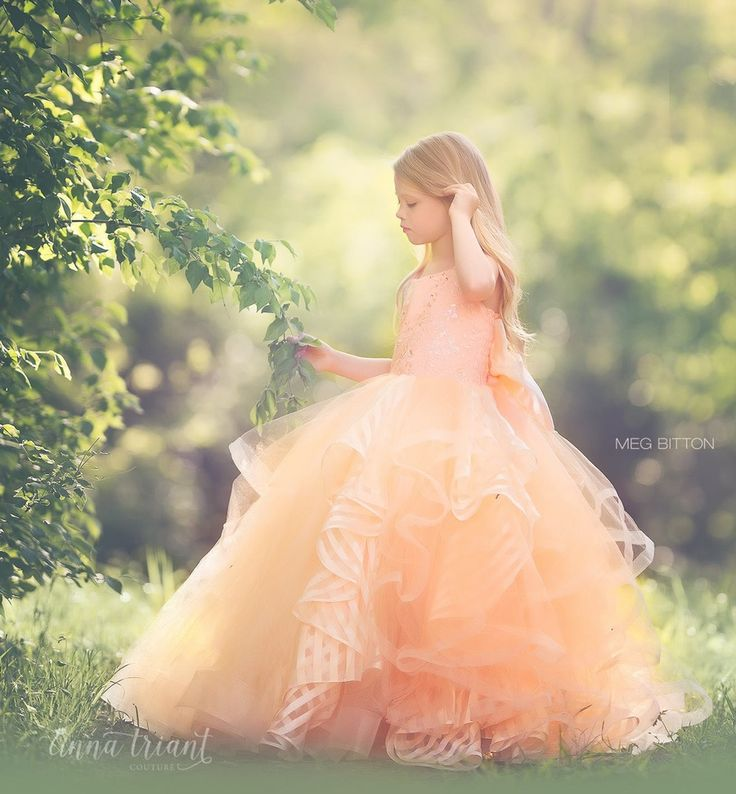 "Anna Triant Couture | Products | Flower Girl Dress | ""Hayley"" Dress"