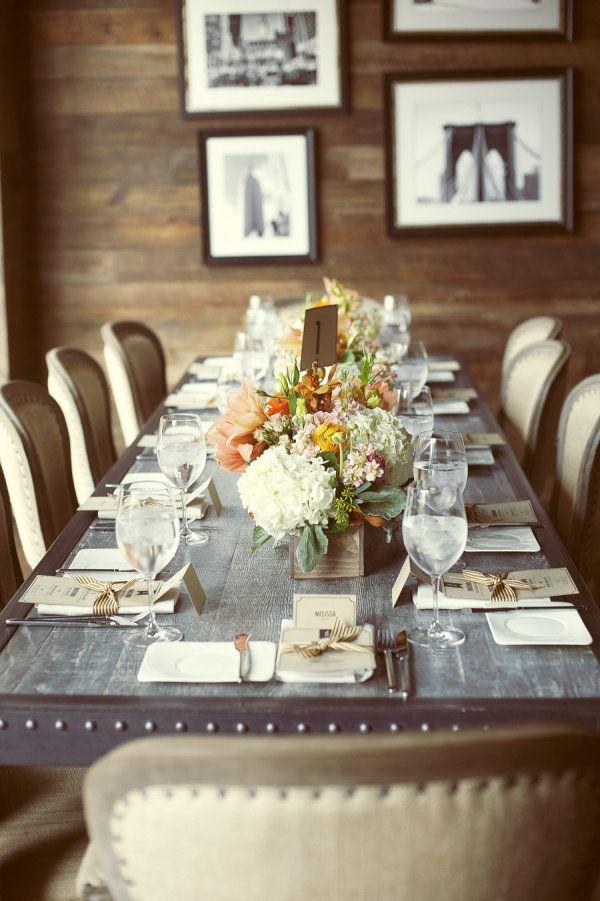Gorgeous table setting...
