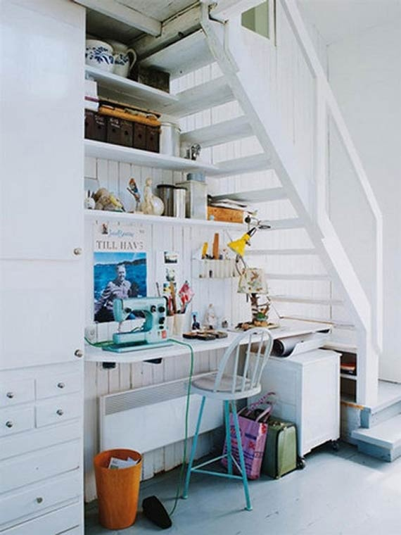 Home Office Under Stairs Design Ideas: Under Stairs Office