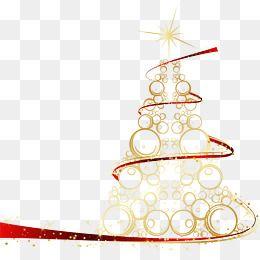 Tree Clipart Originality Abstract Golden Circle Beautiful Silk Ribbon Happy Christmas Tree Creative Vecto Christmas Tree With Gifts Splatter Art Free Christmas