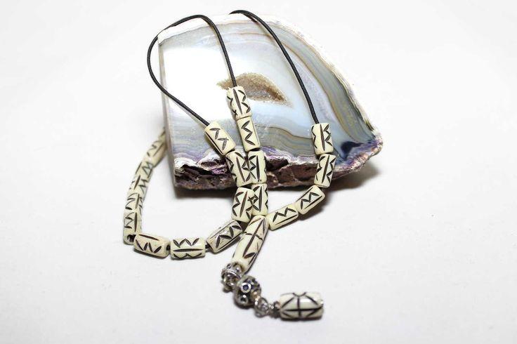 Carved Camel bone Worry Beads, Greek Komboloi, Tasbih, Relaxation, Meditation by AlterDecoCoinsnBeads on Etsy #worrybeads #komboloi #Greece #tasbih #prayerbeads