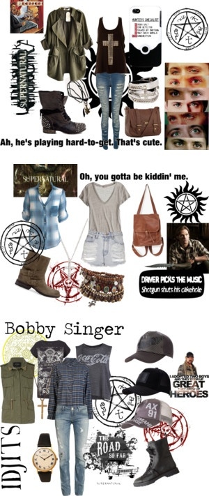 """Supernatural"" by mkcf on Polyvore"
