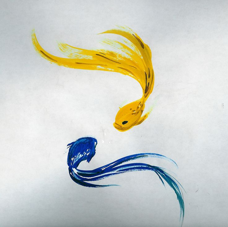 I'd get it as a tattoo...  http://fc09.deviantart.net/fs13/f/2007/103/3/3/Watercolor_fish__by_hyperpro.jpg
