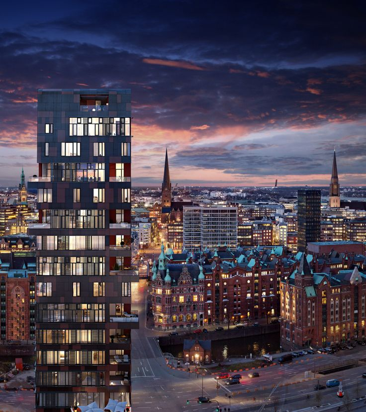 Cinnamon Tower, Hamburg HafenCity (BDS)