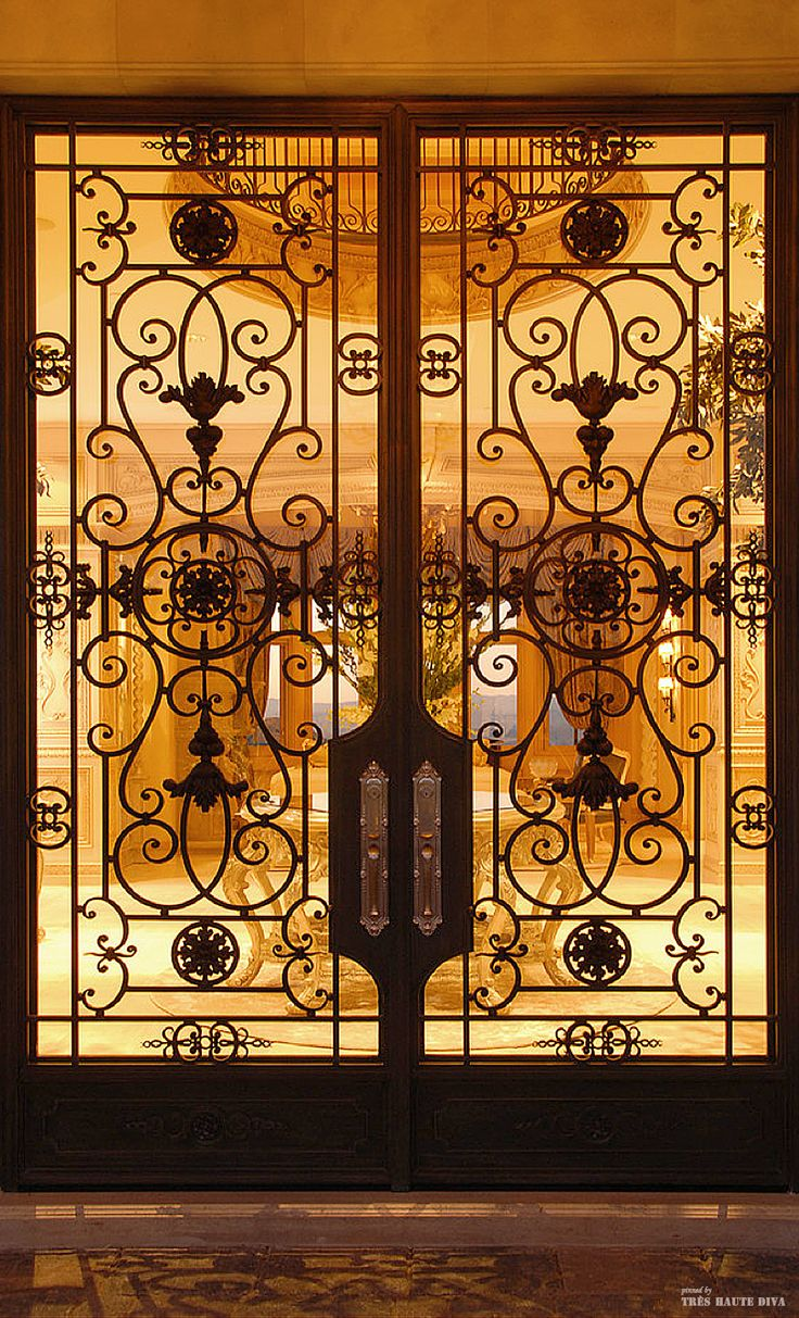 French Chateau style entry door & 9 best images about patio doors on Pinterest Pezcame.Com