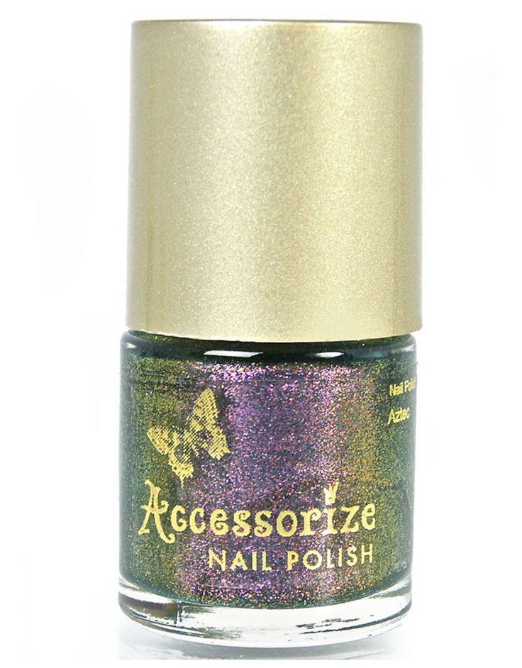 Aztec Illusion Nail Polish   Pink   Accessorize 5,90e