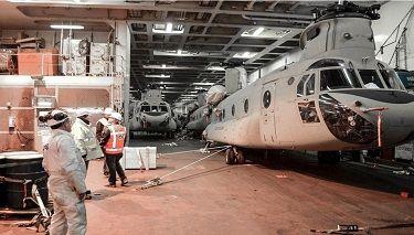 ABD Ordusu Avrupa'daki Kuvvetlerini Takviye Ediyor Yazar:JOHN VANDIVER  STARS AND STRIPES, 9 Şubat 2017 Çeviren: ERCAN CANER, Ankara-Türkiye, 14 Şubat 2017 ABD ordusundan 10'uncu Muharip Havacılık Tugay personeli helikopterler ve destek teçhizatını Antwerp-Belçika'da bulunan indirme limanında boşaltırlarken. 8 Şubat 2017. Foto: U.S. Army STUTTGART, Almanya — Amerikan ordusuna bağlı 10'uncu Muharip Kara Havacılık Tugayı, yüzlerce …