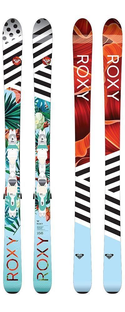 Roxy Dreamcatcher 75 Womens Skis Xpress Roxy 11 B83 Bindings 2017