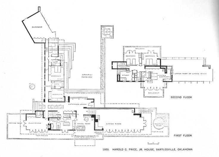 203 best frank lloyd wright images on pinterest frank for Frank lloyd wright floor plan