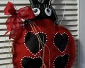 Burlap Door Hanging LSU Tiger Burlap Door Hanger by nursejeanneg