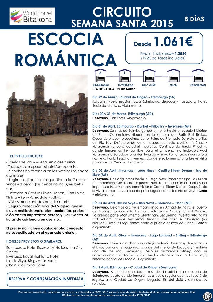 ESCOCIA: Escocia Romántica (Semana Santa 2015) desde 1.061€ + tasas ultimo minuto - http://zocotours.com/escocia-escocia-romantica-semana-santa-2015-desde-1-061e-tasas-ultimo-minuto/