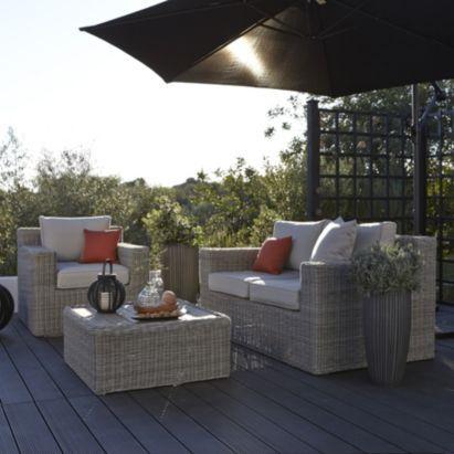 Praslin Rattan Effect Coffee Set  Grey  B Q Love this. 25  best ideas about B q garden furniture on Pinterest   B q