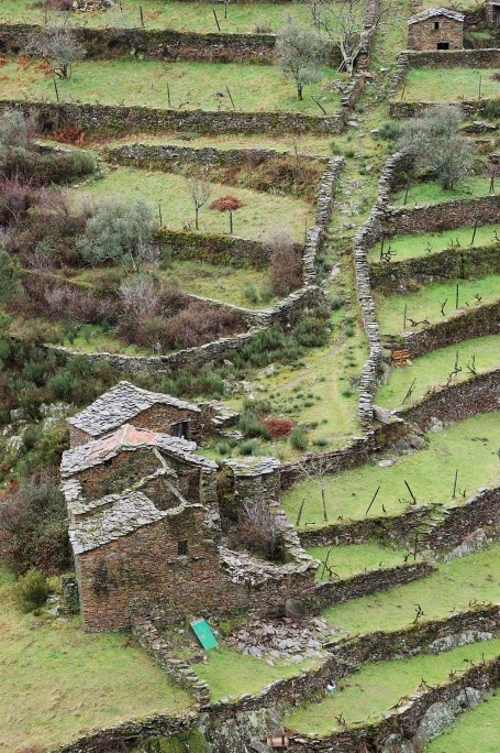 Forgotten houses, abandoned villages, Alto Douro (Portugal)