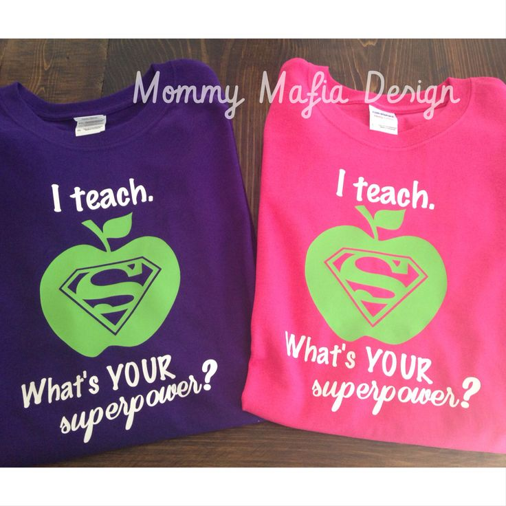 What's your super power..Teacher Shirt by MommyMafiaDesign on Etsy