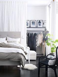 1000+ ideas about Closet Behind Bed on Pinterest | Wardrobe Behind ...