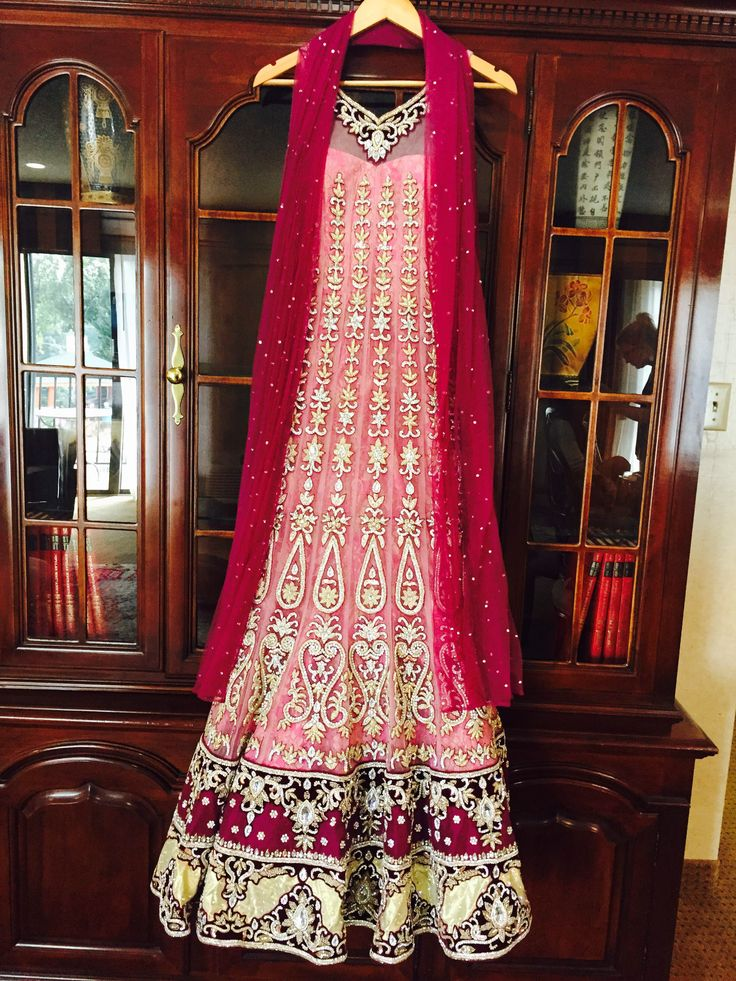 Indian reception outfit