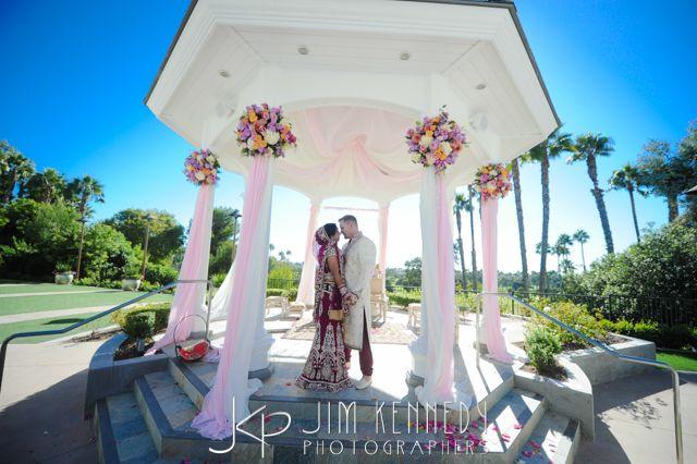 Beautiful Indian Wedding at Marriott Fashion Island   Newport Beach Marriott   Jim Kennedy Photographers