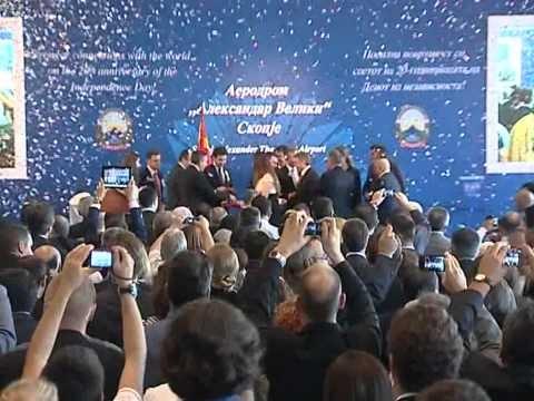 Skopje Opening Ceremony