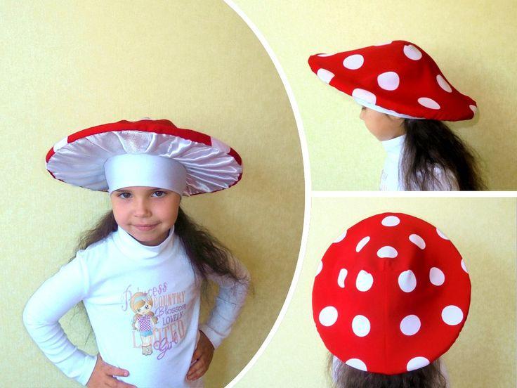 костюм гриба на детский утренник