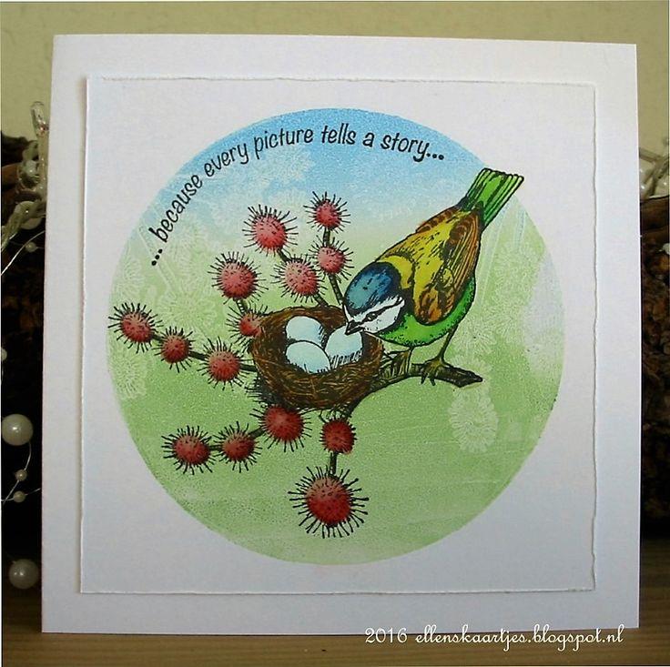 Art Journey Design-team: Garden Birds on gelli prints