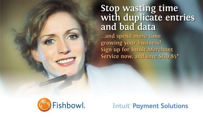 Intuit Merchant Service   Fishbowl Inventory myrealdata.com
