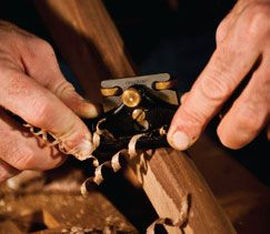 Using a spokeshave at the Heritage School of Woodworking: http://www.sustainlife.org/heritage-school-of-woodworking/