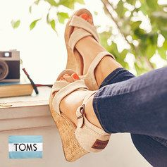 TOMS are on sale today on Zulily. They go fast!