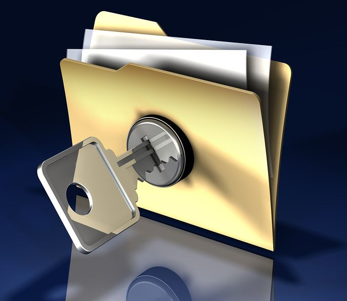 How to hide and lock your files with a single click