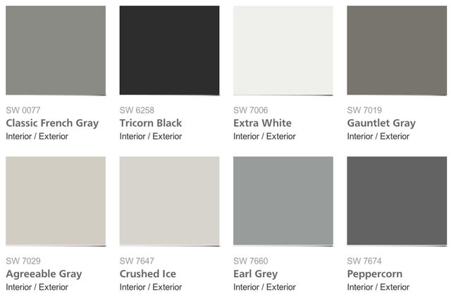 Sherwin-Williams 2014 Color Forecast Slideshow: The Colors of Sherwin-Williams Reasoned Palette