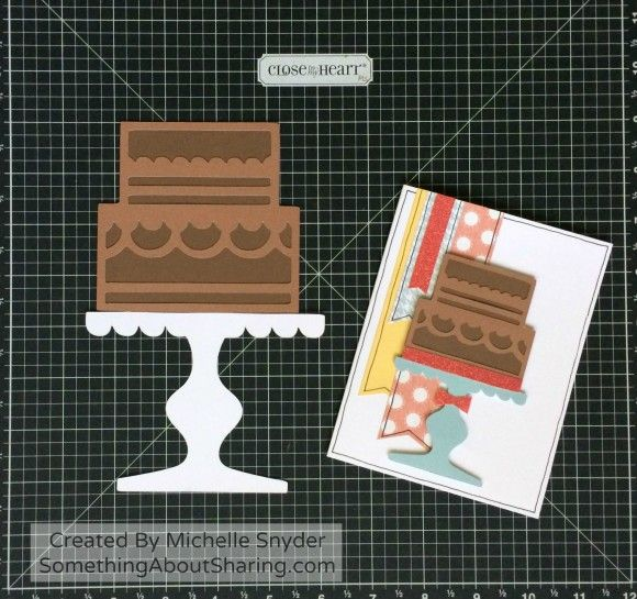 Chocolate Cake anyone? Love the layering options with the new CTMH Cricut Artistry Cartridge. Over 700 fabulous die-cuts.