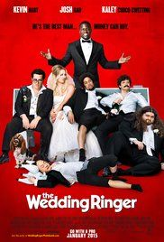 The Wedding Ringer.  Two weeks shy of his wedding, a socially awkward guy enters into a charade by hiring the owner of a company that provides best men for grooms in need.