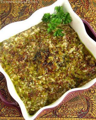 Turmeric and Saffron: Ash-e Somagh - Herb and Sumac Soup