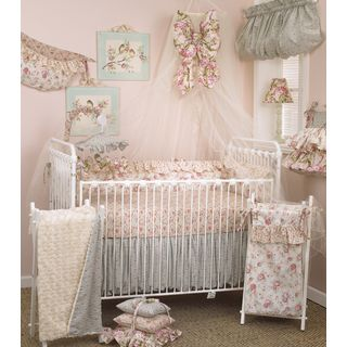Cotton Tale Tea Party 8-piece Crib Bedding Set | Overstock™ Shopping - Big Discounts on Cotton Tale Bedding Sets, includes bumper, $216.99