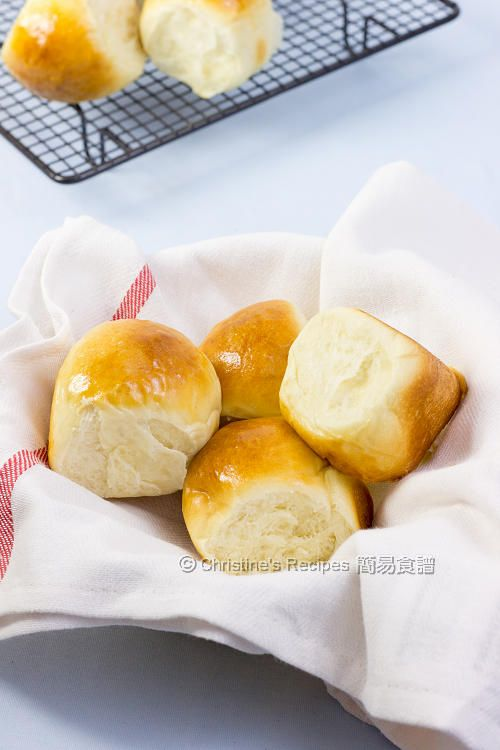 Butter Buns (with Tips on making fresh buns for breakfast) - Christine's Recipes: Easy Chinese Recipes | Easy Recipes