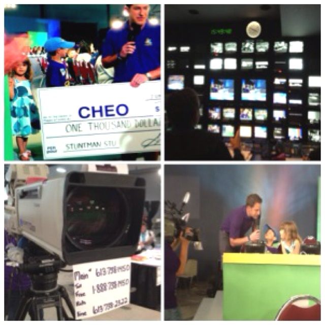 Love being part of #CHEOtelethon