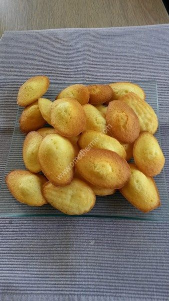 Madeleines thermomix, recette thermomix gouter