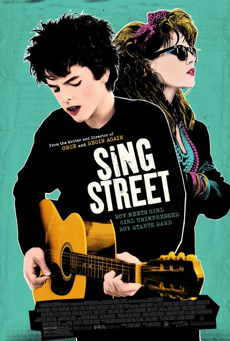 """We need to start a band."" -Sing Street, a John Carney film set in Dublin in the 1980s - I saw this on opening night tonight - brilliant film, especially for someone who was a teenager in the 80s!"